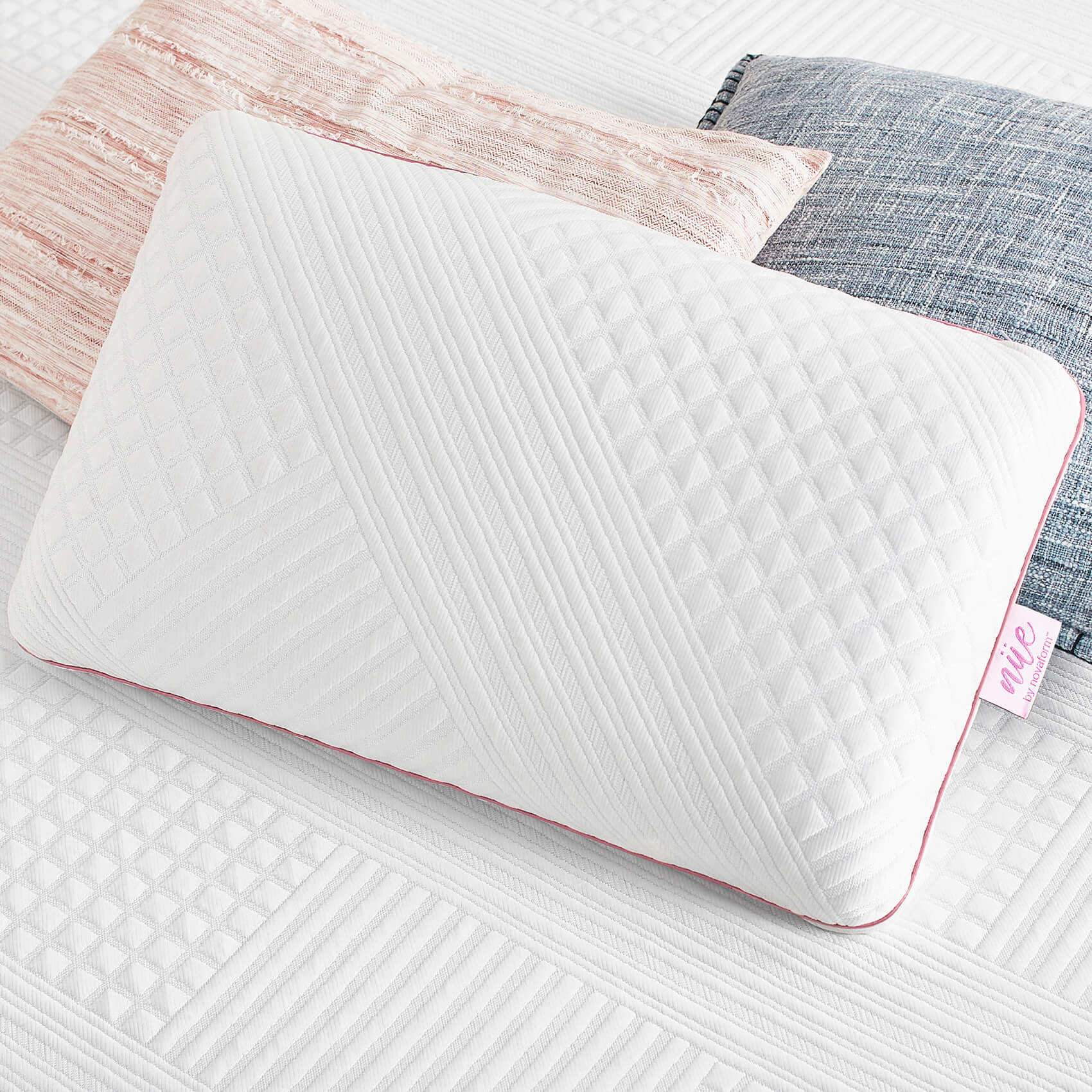 cool pillow with gel memory foam