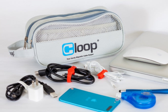 CLOOP: Your Handy Magnetic Cable Tie