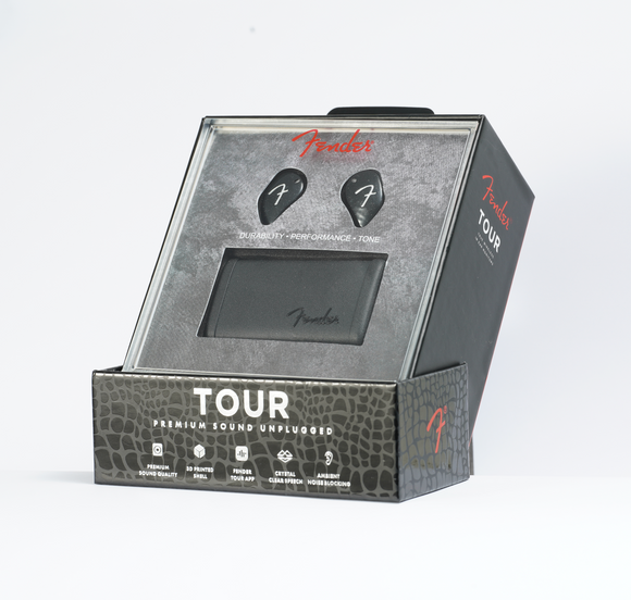 Fender Tour True Wireless In-Ear Monitors 全無線入耳鑑聽耳機