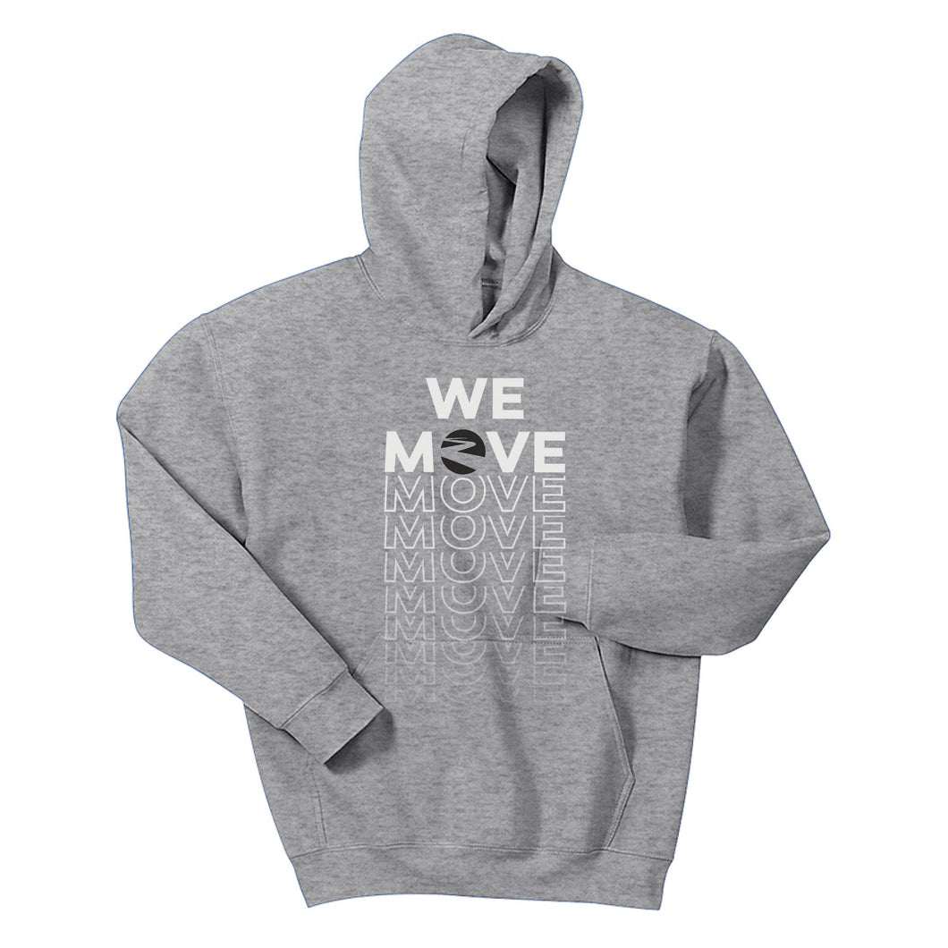 WHITE OAK CHRISTIAN CHURCH | Youth Hoodie | WE MOVE WHITE/BLACK