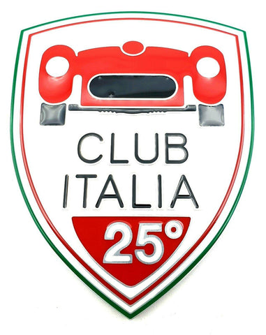 "Badge ""Club Italia"" - 4C - Alfa Romeo Genuine Parts Shop"