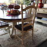 Dining Table built in leaf & 6 chairs - Finders Keepers Furniture