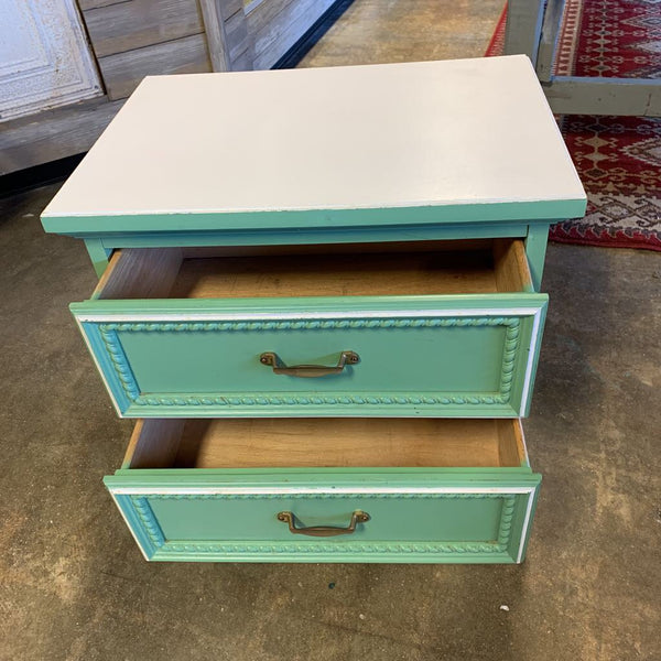 Painted End Table - Finders Keepers Furniture