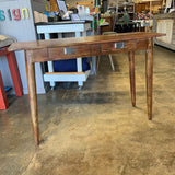 Console Table w/Drawer As Is 45 x 16 x 30.25