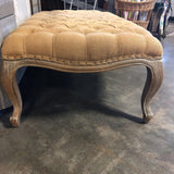 Madison Tufted Ottoman w/Oak Legs 50x28x17 (RT$945)