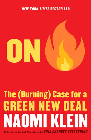 Sustainability Book Tip: On Fire by Naomi Klein