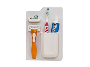 Silicone Toothbrush and Razor Holder