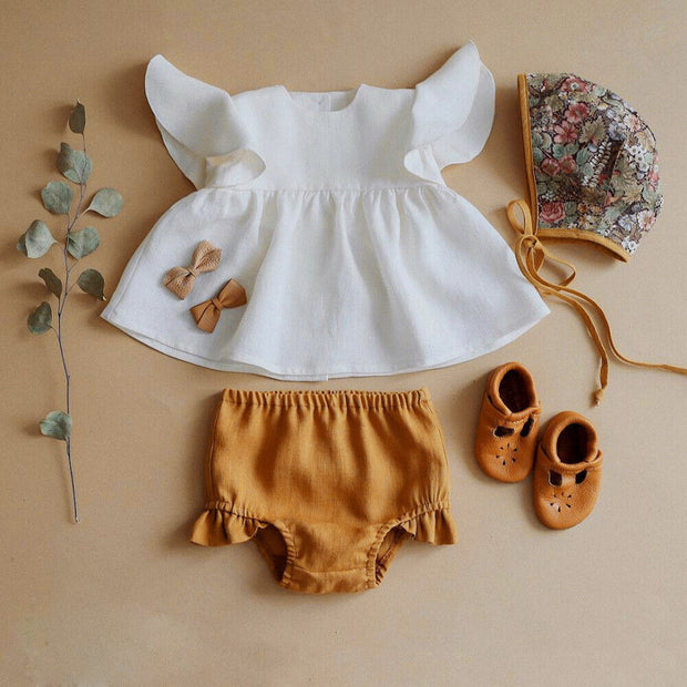Cute Baby Girl Summer Dress Set