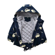 Winter Warm Hooded Jackets Cars