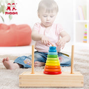 Montessori Hanoi Tower Brain Teaser