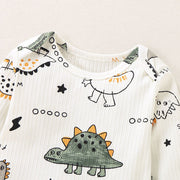 Dinosaur Cotton Romper