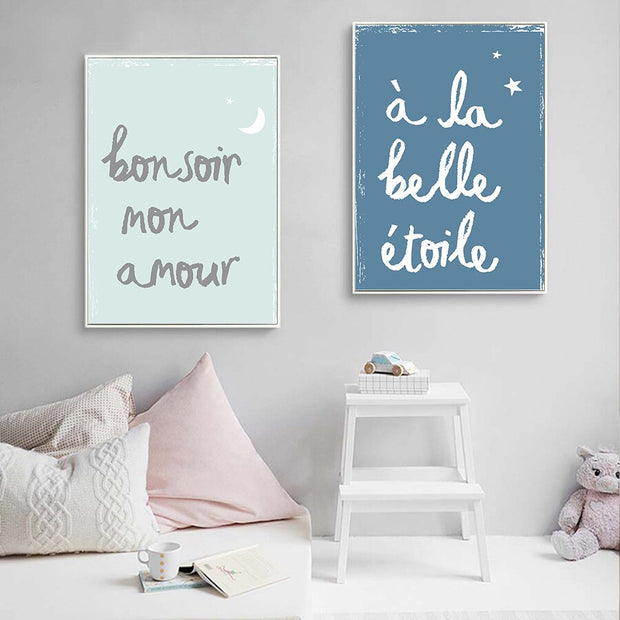 Wall Decorative Canvas French
