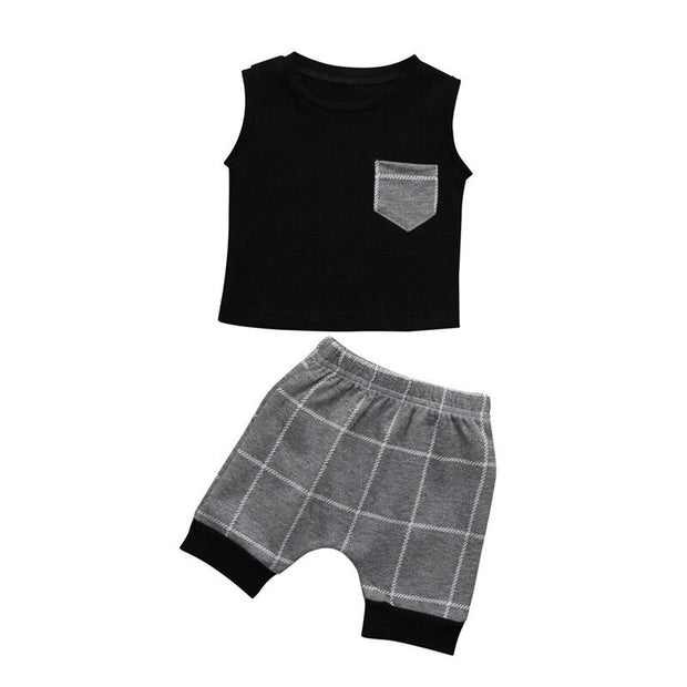 Boys Clothes Set For Summer