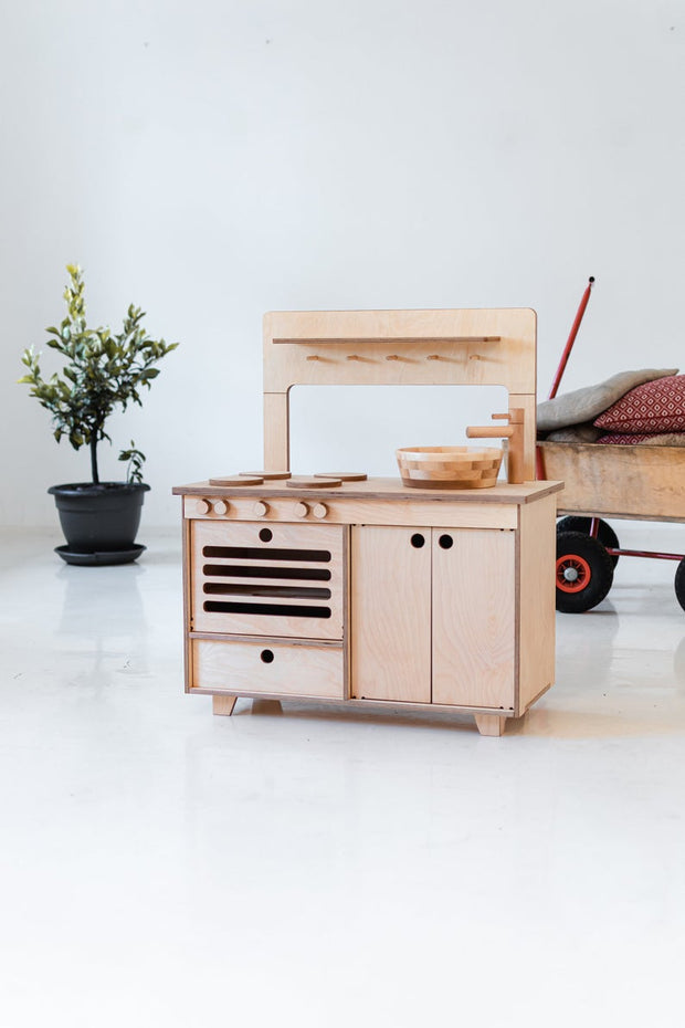 Wooden Play Kitchen Zoe