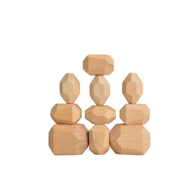 Montessori Wooden Tumi Ishi Block