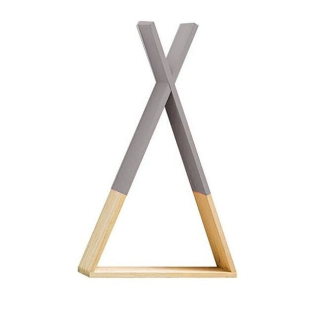 Wall Mounted Triangle Shelf