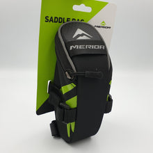 Load image into Gallery viewer, RACK PACK SADDLEBAG BLACK MERIDA GREEN M