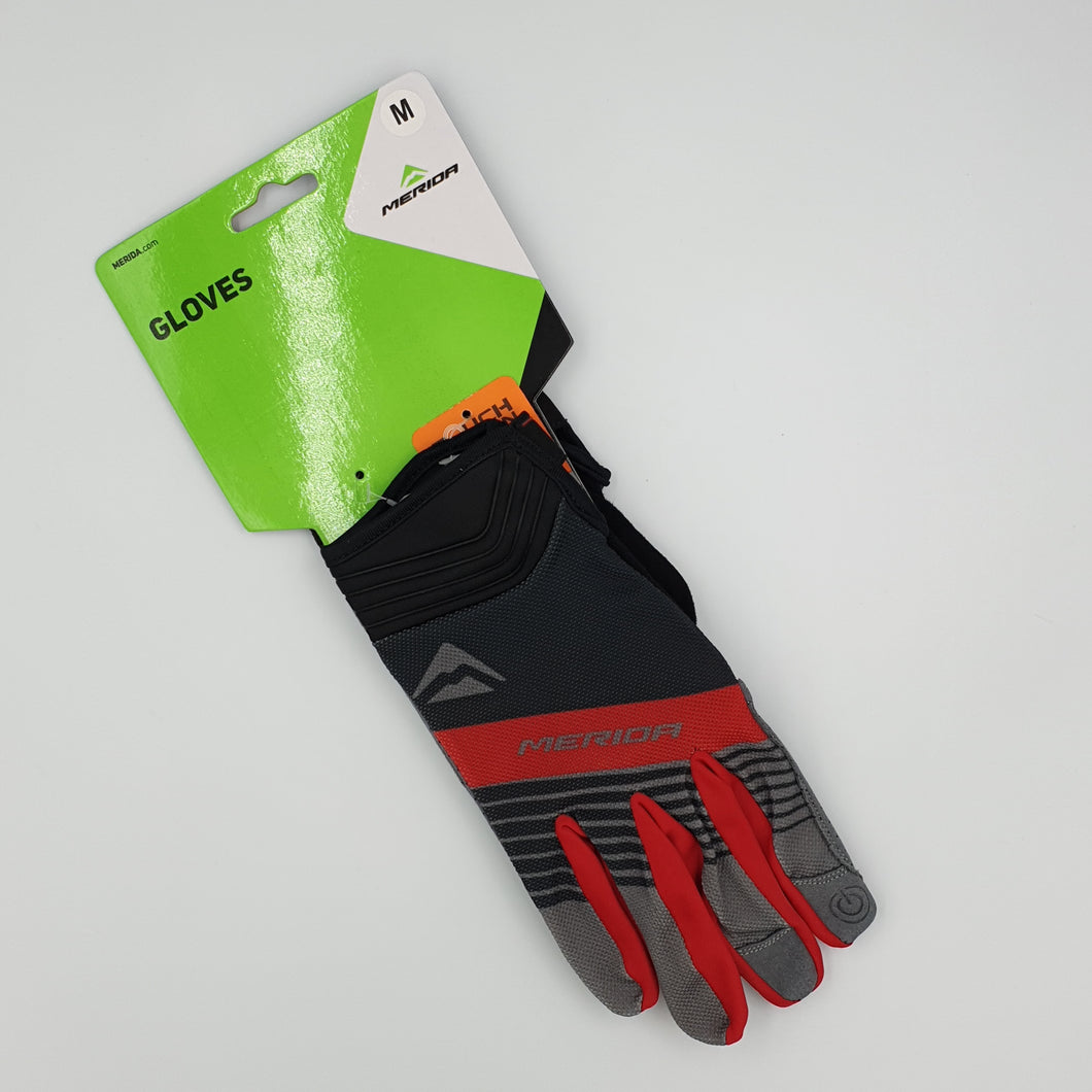 LONG LIGHT GEL RED GLOVES