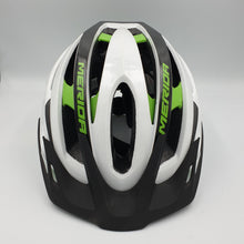 Load image into Gallery viewer, TEAM MTB GLOSSY TEAM WHITE/GREEN 55-59CM HELMET