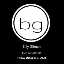 "Load image into Gallery viewer, Billy Gilman ""Coming Home To Country"" Livestream"