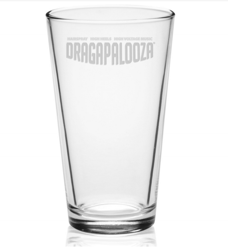 Dragapalooza Pint Glass