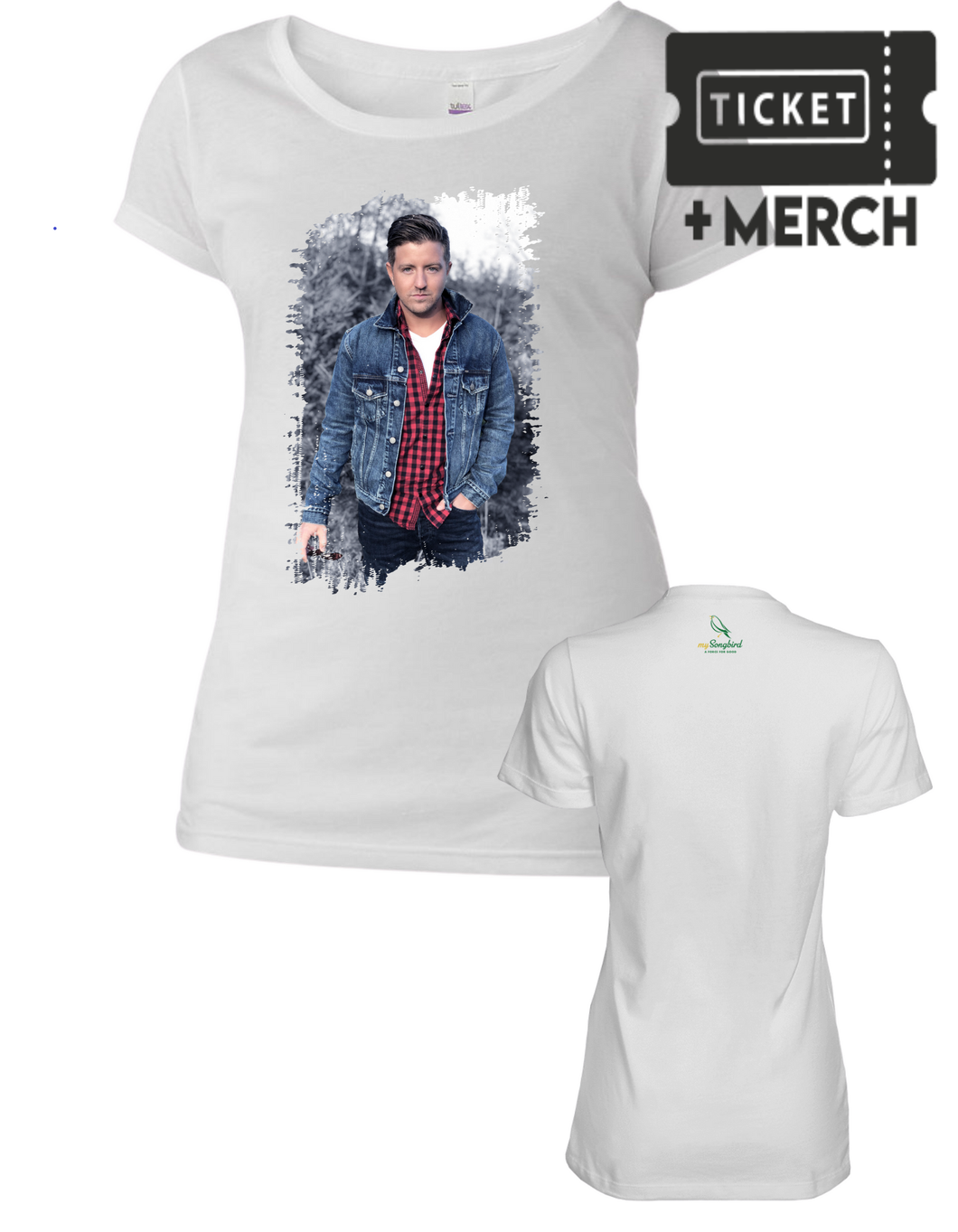 Billy Gilman Livestream +  Women's T-shirt Bundle