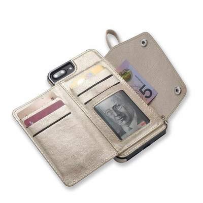 Casely Vegan Leather Wallet Phone Case