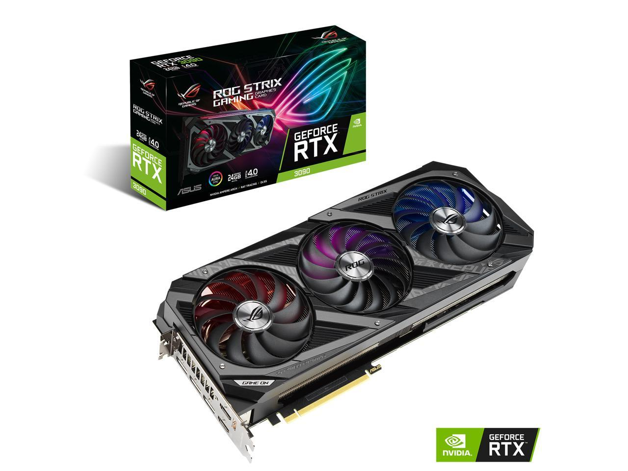 ASUS ROG Strix GeForce RTX 3090 DirectX 12 BACKORDER