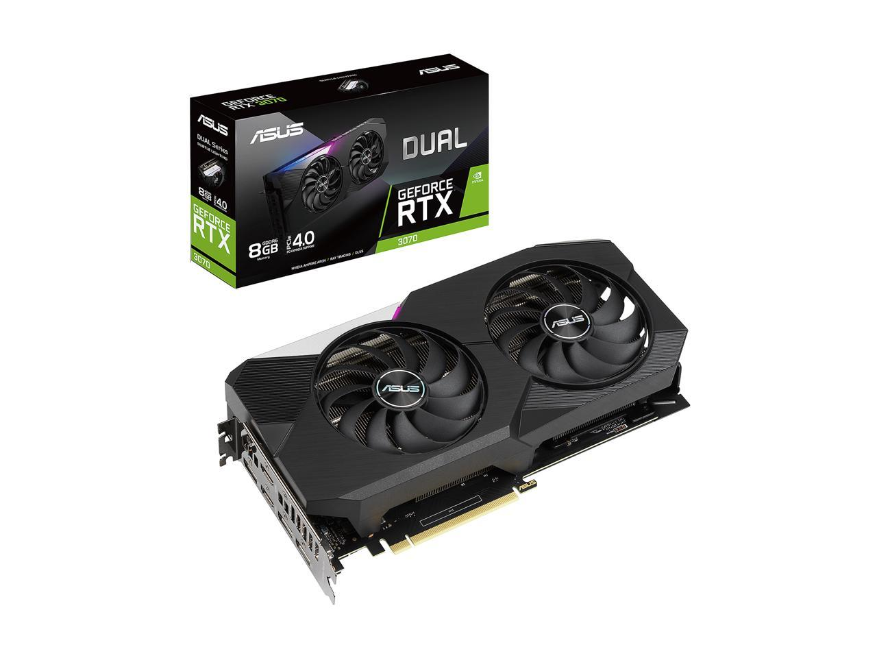 ASUS Dual GeForce RTX 3070 + EVGA 400w Watt PSU Bundle IN STOCK