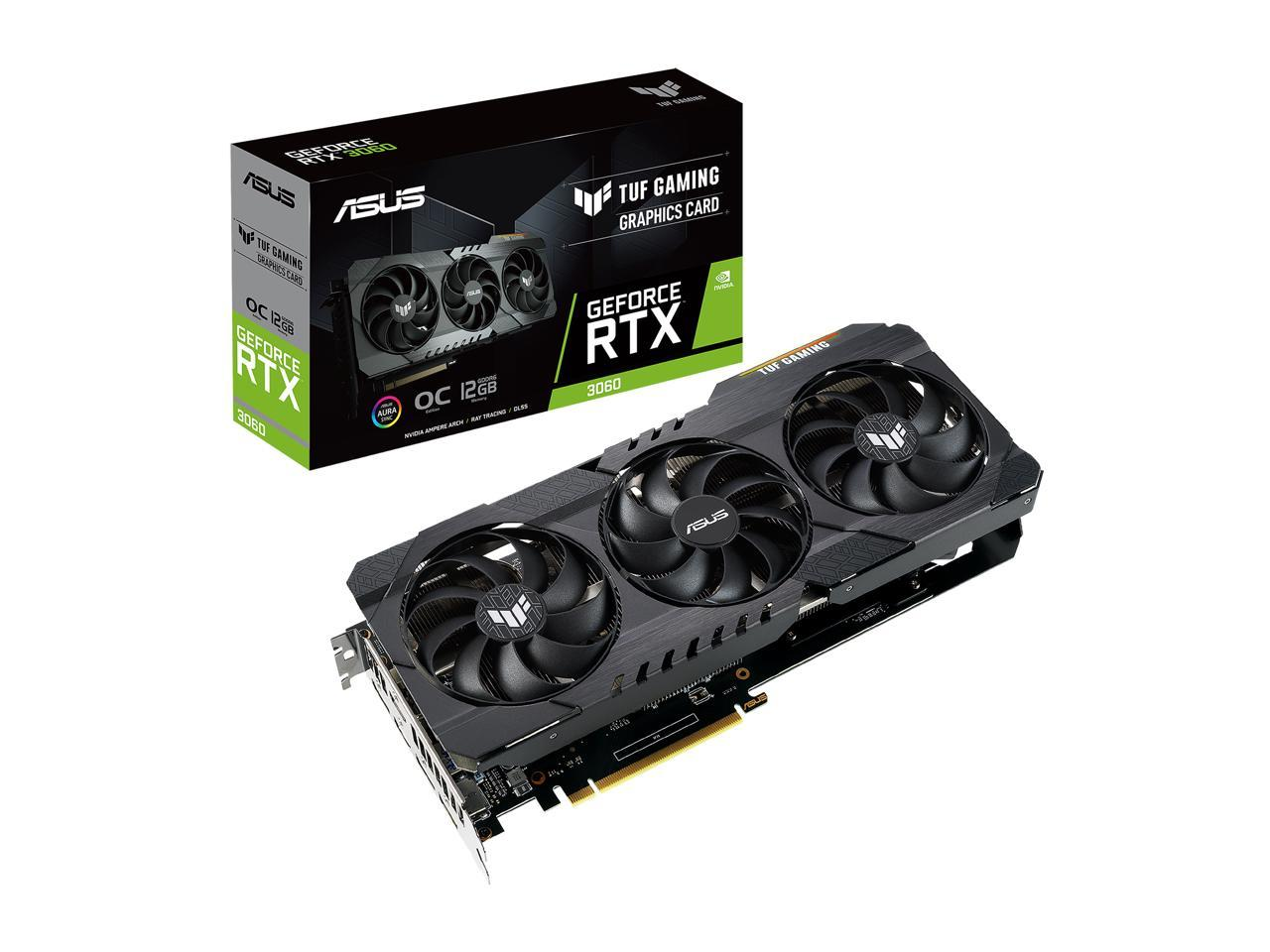ASUS TUF Gaming GeForce RTX 3060 OC + Zotac ZBOX CL329 NANO BUNDLE IN STOCK