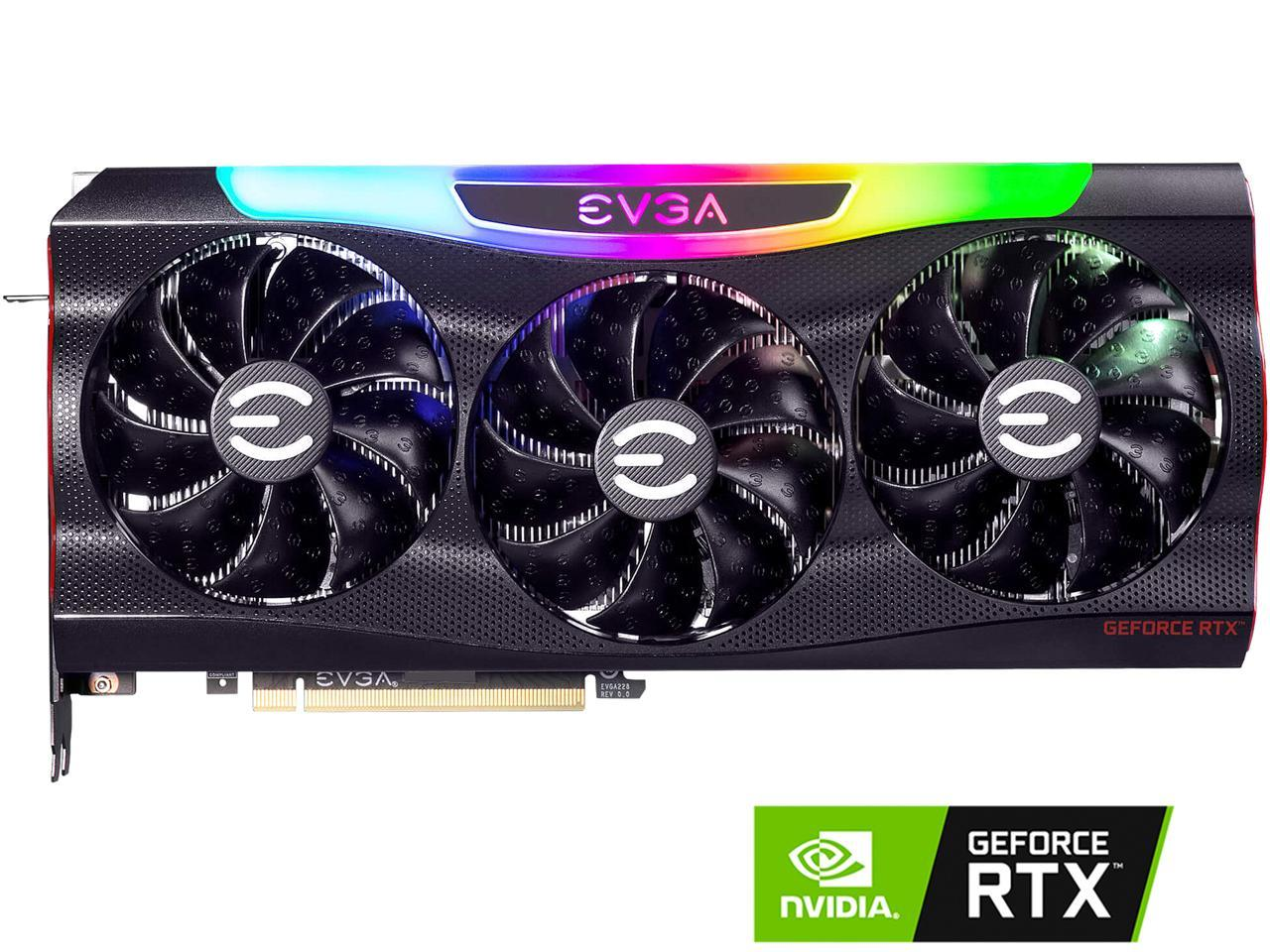 EVGA GeForce RTX 3080 FTW3 ULTRA GAMING + ASUS PRIME B550-PLUS AM4 AMD B550 SATA 6Gb/s ATX AMD Motherboard + 80mm Fractal SSR3 Fan Bundle