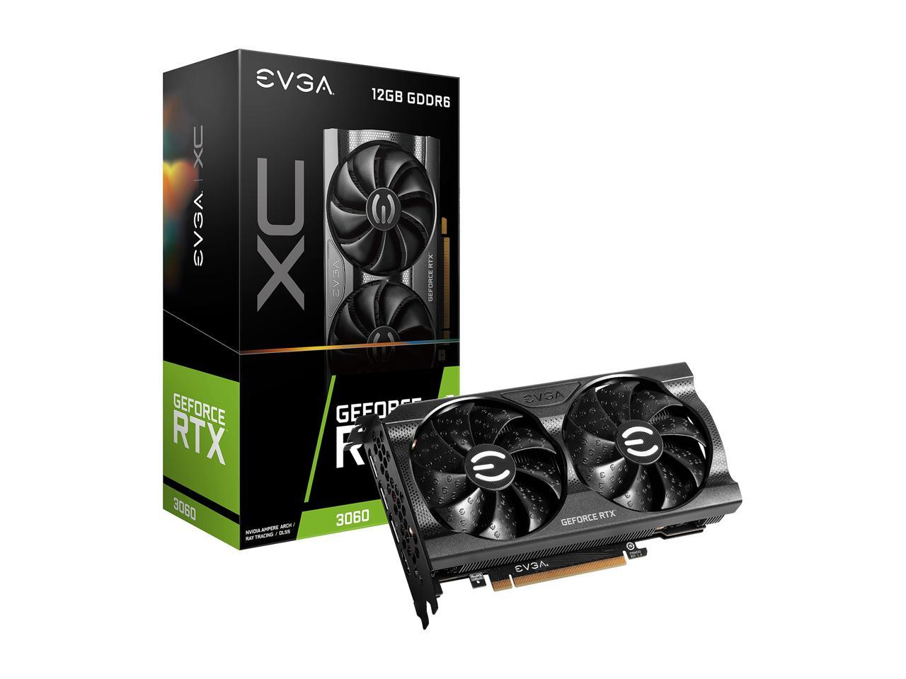 EVGA GeForce RTX 3060 XC GAMING, 12G-P5-3657-KR, 12GB GDDR6, Dual-Fan, Metal Backplate  + Zotac ZBOX CI329 NANO + EVGA 550W PSU BUNDLE IN STOCK