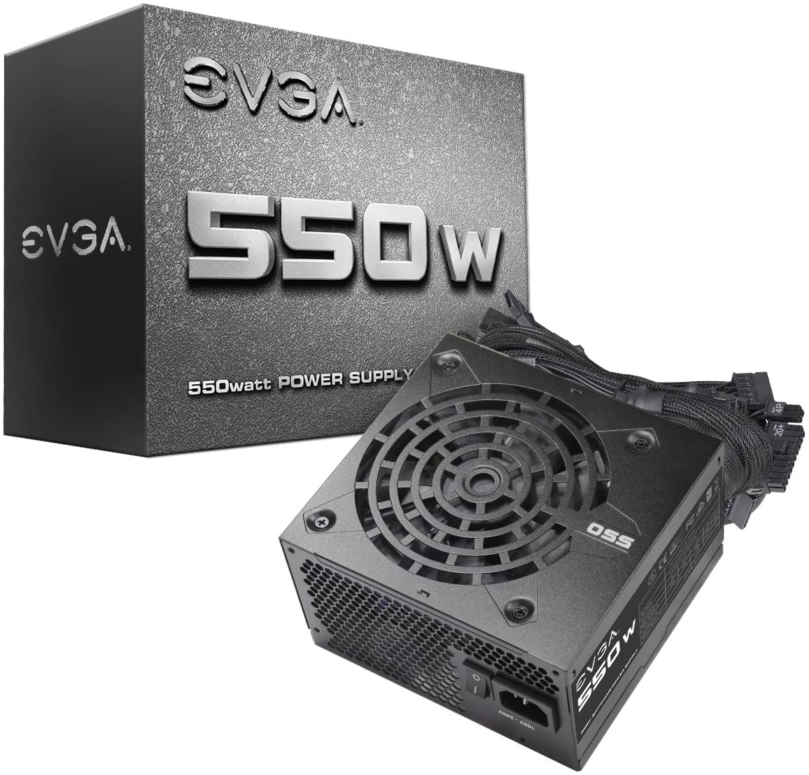 EVGA VCX 08G-P5-3765-KR GeForce RTX 3070 FTW3 GAMING + EVGA PSU 550W + Fractal 40mm Fan COMBO IN STOCK