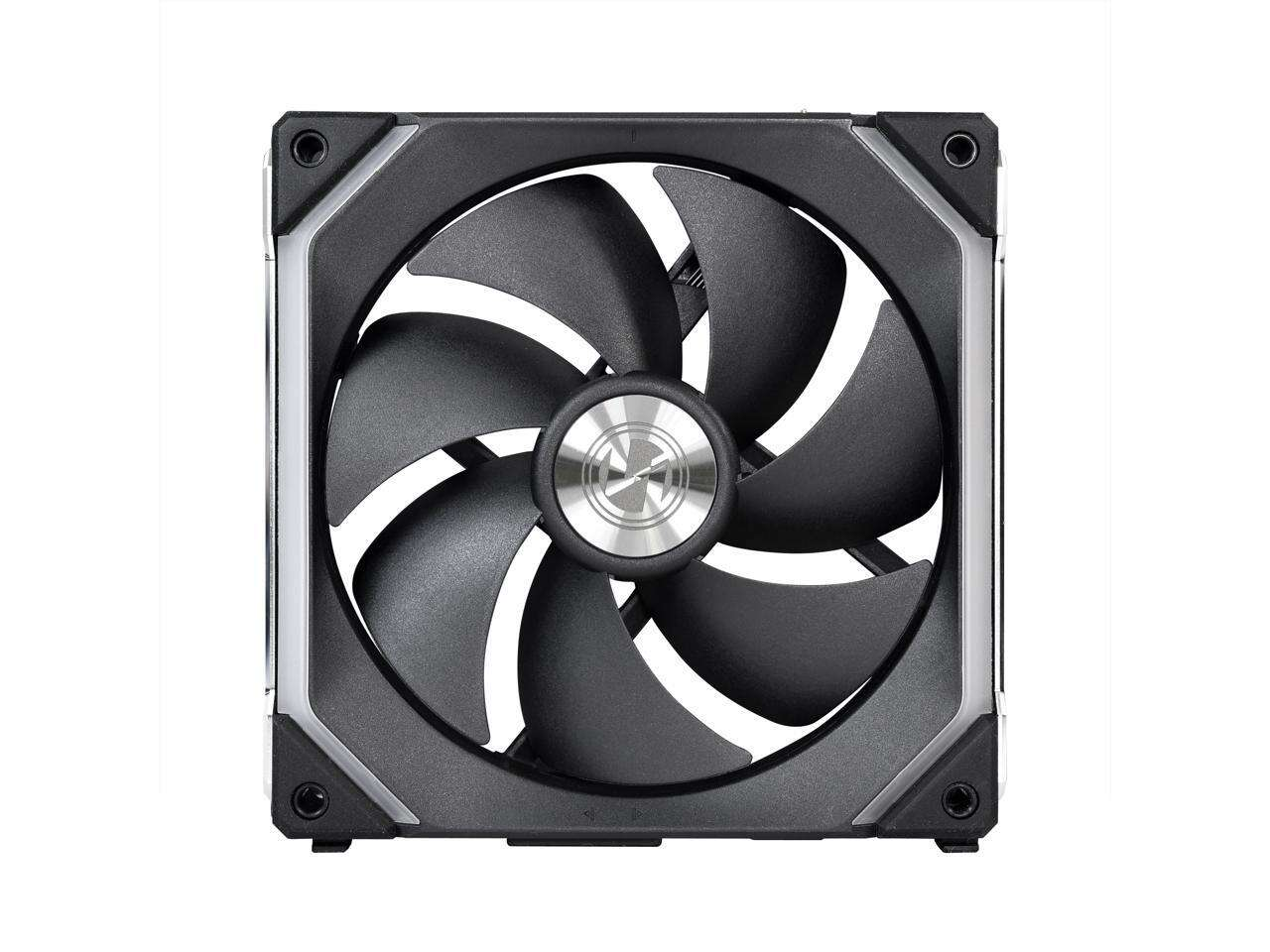 LIAN LI UNI FAN SL140 RGB BLACK 1X 14CM FAN PACK WITHOUT CONTROLLER