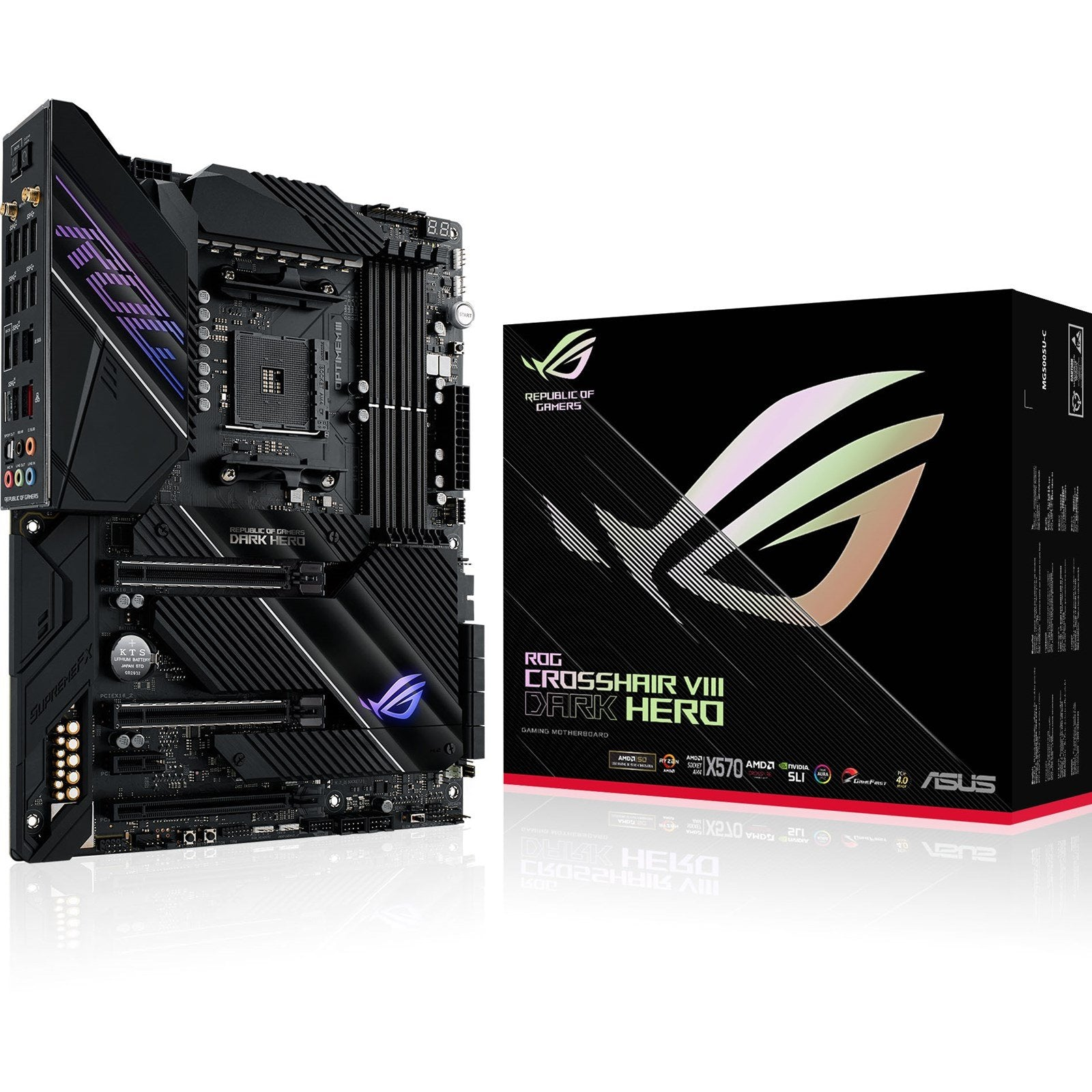 ASUS ROG Crosshair VIII Dark Hero AMD Motherboard Backorder*