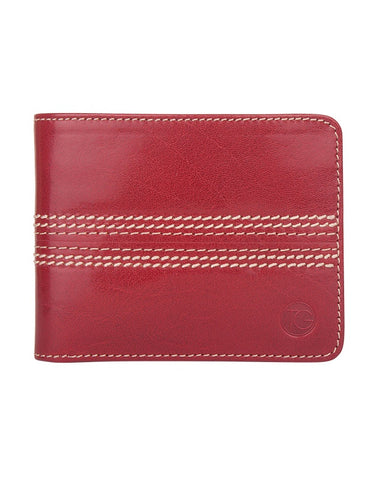 Bi-fold Wallet 'The Opener' (Cherry)