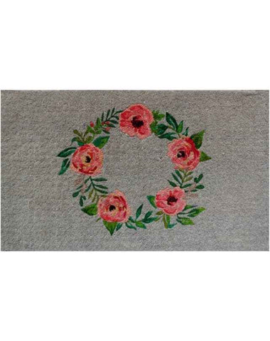 Rose Wreath Doormat