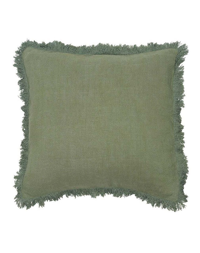 Luca Boho Cushion Sage 50x50