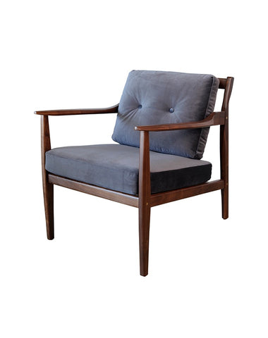 Brasilia Lounge Chair (Charcoal)