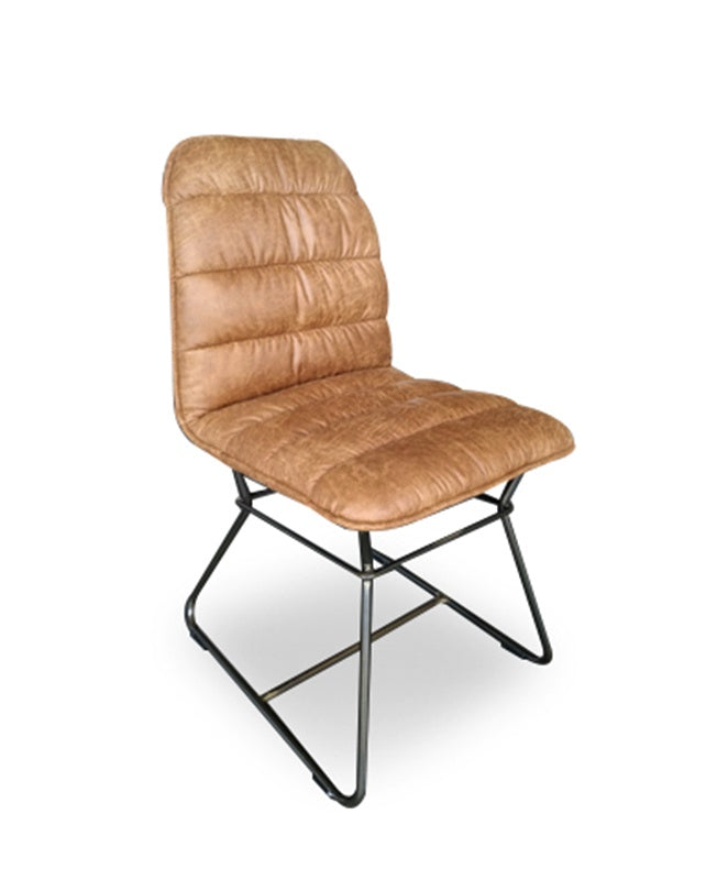 Minsk Dining Chair (Cognac)
