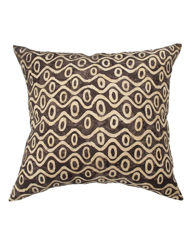 Husk Waves Cushion 60x60