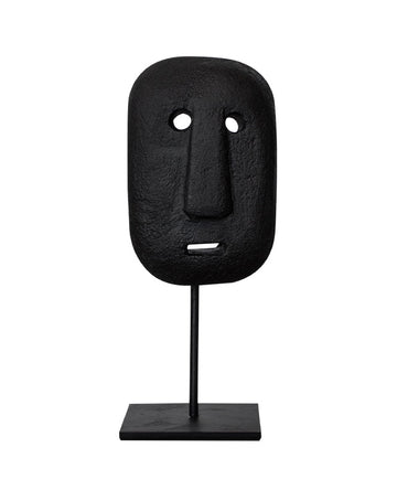 Sumba Stone Mask on Stand
