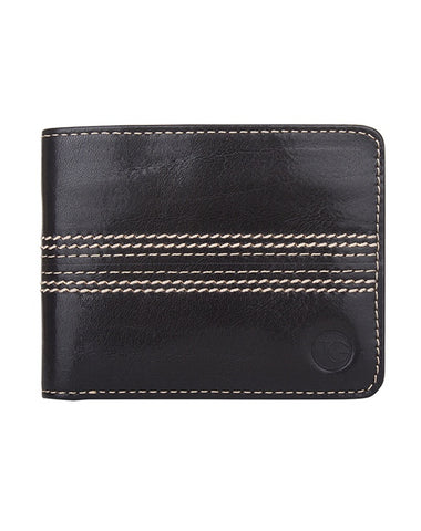 Bi-fold Wallet 'The Opener' (Black)