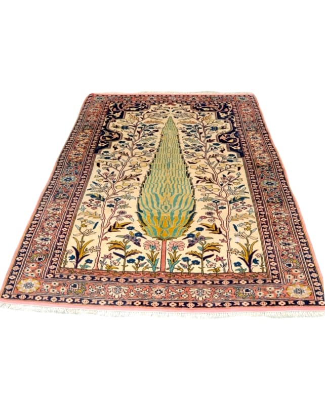Tree of Life Kurdish Rug 194x137cm