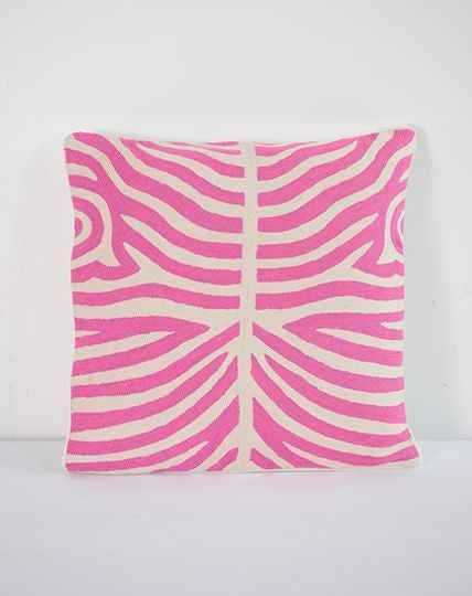 Zebra Pink cushion
