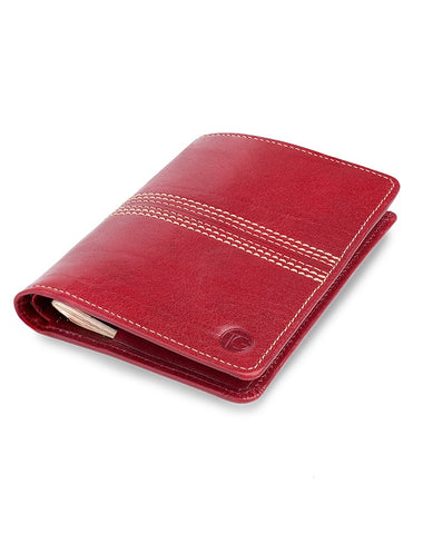 "Simline Travel Wallet ""The Tourist"" (Cherry)"