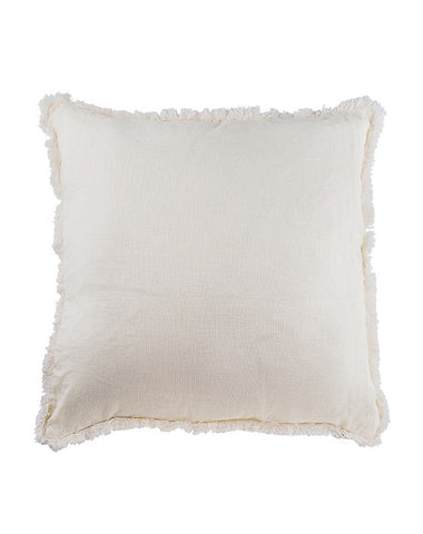 Luca Boho Warm White Cushion 60x60