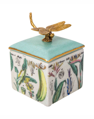Jungla Trinket Box Botanical