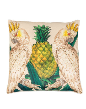 Imperio Cushion - Cacatoes