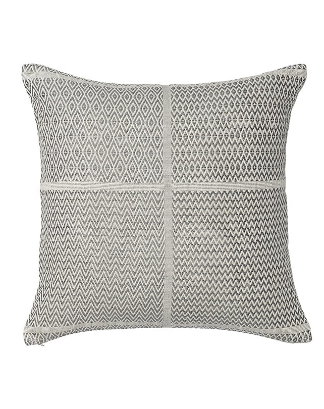 Honning Diamond ZigZag Cushion 60x60 - Grey
